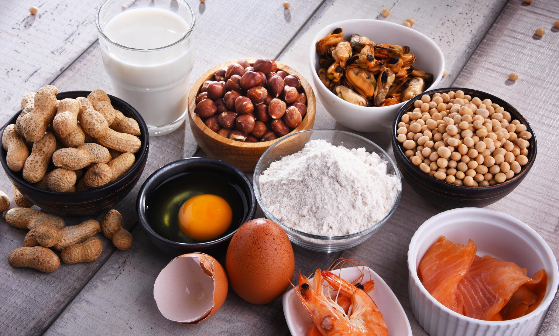 ¿Qué son los alérgenos alimentarios?