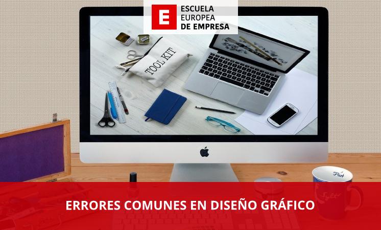 Errores comunes en diseño gráfico - EEE